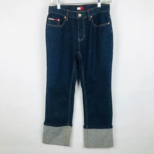 Tommy Girl Hilfiger Vintage Cuffed Jeans